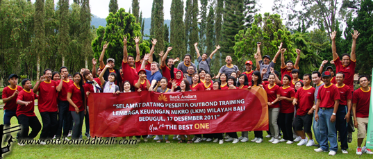 team building bank andara