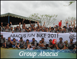 group cycling abacus