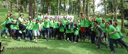 team building group pln pjb